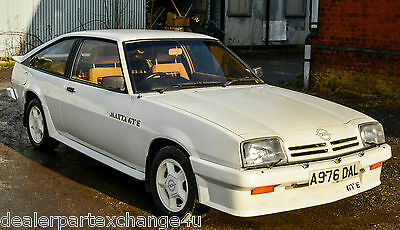Opel Manta GTE. 46900 miles.MOT.Stunning condition. Ready to drive away.Original