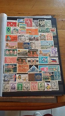 48 timbres Philippines (lot 9)
