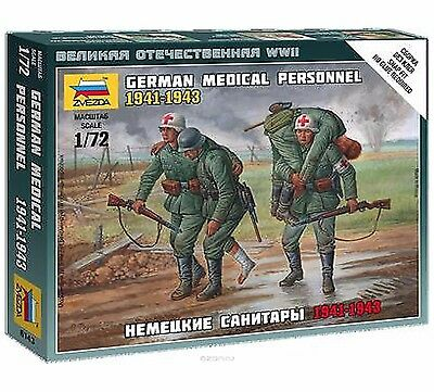 Zvezda - German medical personnel 1941-1943 - 1:72