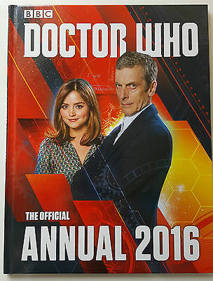 Bbc Doctor Who The Official Annual 2016