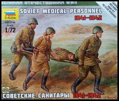 Zvezda - Soviet medical personnel 1941-1942 - 1:72