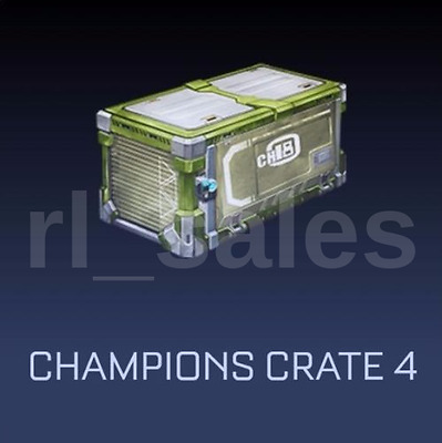 Rocket League x10 Champions Green Crate 4 - CC4 - Xbox One