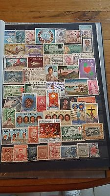 50 timbres Philippines (lot 15)