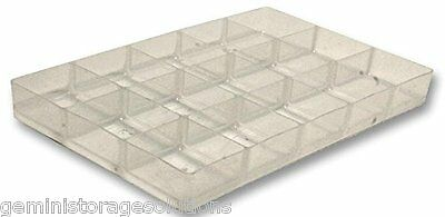 Really Useful Products 15 Compartment Hobby Craft Organiser Tray For 9 L & 4 L