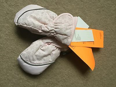 H&M Baby Pink Winter Snow Gloves Thinsulate Windproof 6-12 Months BNWT