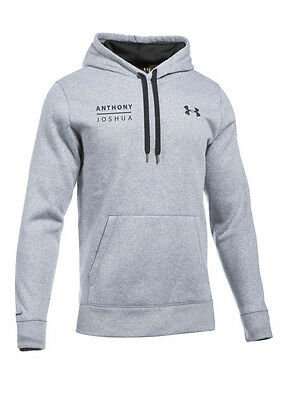 Anthony Joshua Authentic Under Armour PULLOVER Hoody in LARGE