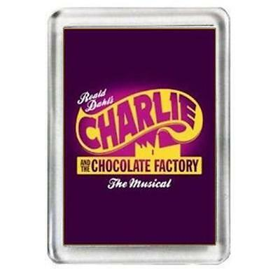 Charlie And The Chocolate Factory. The Musical. Fridge Magnet.