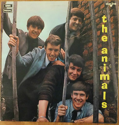 The Animals - The Animals Vinyl LP Very Good Condition Record SRS 5006