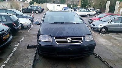 Vw Sharan O/s Driver Side Front Door Black Complete 2005-2010 Breaking Parts