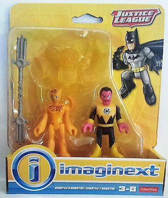 Imaginext DC Comics Justice League Cheetah and Sinestro - Brand New
