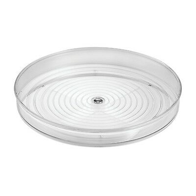 Interdesign Linus 706353 Revolving Spice Tray Clear 23-cm