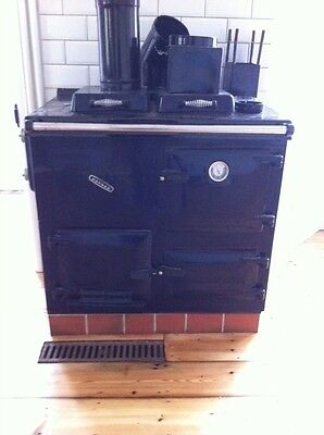 Gas-fired Rayburn Nouvelle (black)