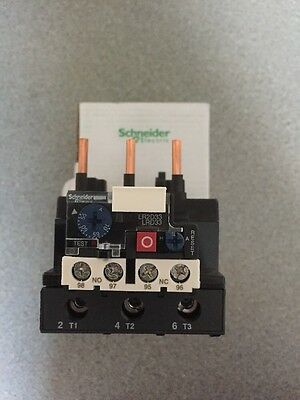 Telemecanique Schneider LRD3361 Thermal Overload Relay 55-70amp TySys 051998