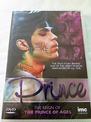 Prince - The Reign Of The Prince Of Ages DVD - Region 2 - NEW SEALED