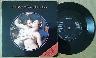 "Enigma - Principles Of Lust/sadness 7"" 45Rpm Vinyl Single"