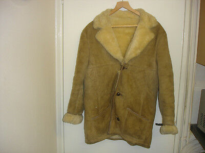 "Australian Sheepskin Coat. Unisex. Size 42"" Chest"