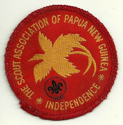 Boy Scout Badge - Papua New Guinea
