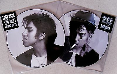 """Lady Gaga * You And I * Uk Limited Edition 7"""" Picture Disc * Bn! * Jo Calderone"""