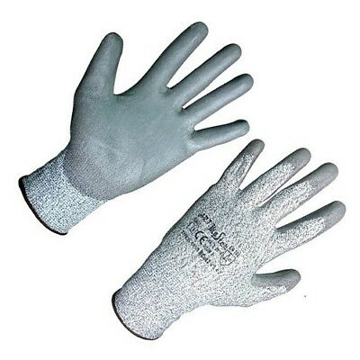Anti Cut Resistant Work Safety Gloves Level 5 Protection Safe Grip