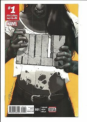 HULK # 1 (Marvel Now! FEB 2017), NM NEW (Bagged & Boarded)