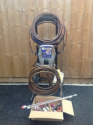 Magnum XR7   Airless Paint Sprayer Plus Extras 110v. Manual.