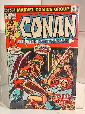 Conan the Barbarian #23 (1970) 4.0 VG Thomas/Windsor-Smith 1st App of Red Sonja