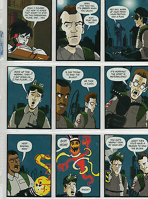 Ghostbusters - 9-card Sing For Your Spectre chase set NM Cryptozoic 2016