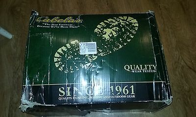 Cabelas Lug Sole 5 mm Chest Waders 12 Tall Duck Blind camo 800 g Thinsulate NEW