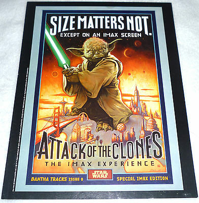 STAR WARS Special IMAX Edition Bantha Tracks 0 ATTACK OF THE CLONES Not a Poster
