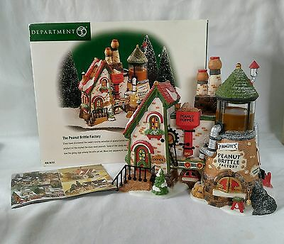 Department 56 The Peanut Brittle Factory 56701 North Pole