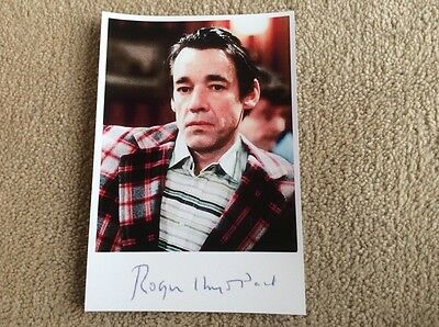 Roger Lloyd-Pack As Trigger Only Fools And Horses Pre Print Signed Card