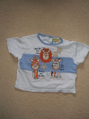Baby Boys Togs by Teddy T-Shirt Age 6 to 12 Months