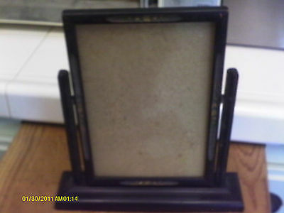 Antique Wood Swivel Picture Frame -Hold 9 X6 Picture Or Photo