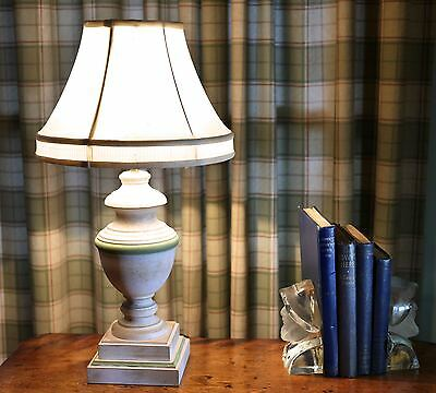 Table Lamp Classic Urn Shape with Laura Ashley Silk Shade