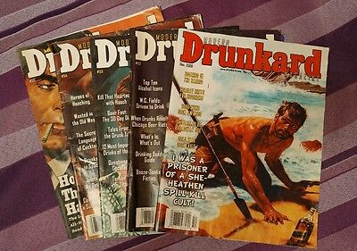Modern Drunkard Magazine 5 consecutive issues 51 to 55