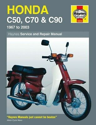 Honda C 90 M Cub E/Start (85cc) (Europe) 1985-2003 Manuals - Haynes (Each)