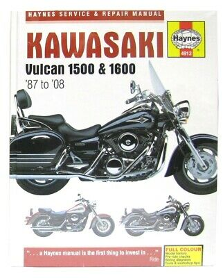 Kawasaki VN 1600 B Mean Streak (UK) 2004-2006 Manuals - Haynes (Each)