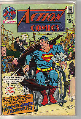 Action Comics #396 - Superman - (-Good)