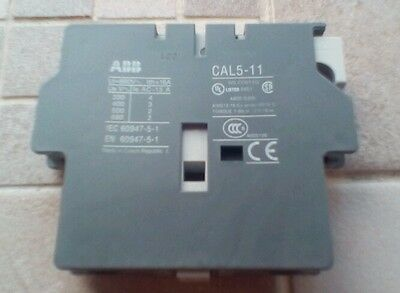 58 x ABB Auxiliary Contact Block CAL5-11 (1NO/1NC) - NEW