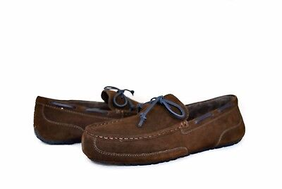 UGG Australia Men's Chester Loafers Chocolate Suede 1005350 Sz 7-12 NEW w/ Box