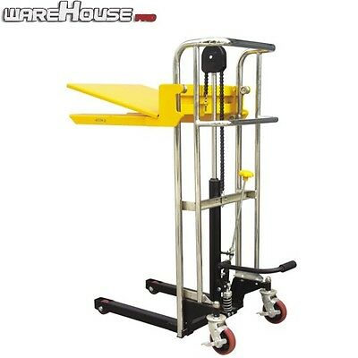 NEW HYDRAULIC LIFTER- 400kg Capacity- 2 in 1 Fork & Platform Lifter