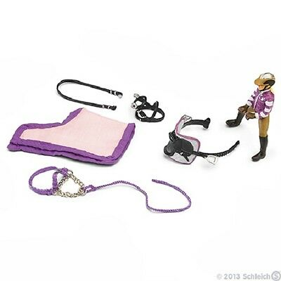 Schleich Model Horse Accessory 42039 - Pony Riding Set
