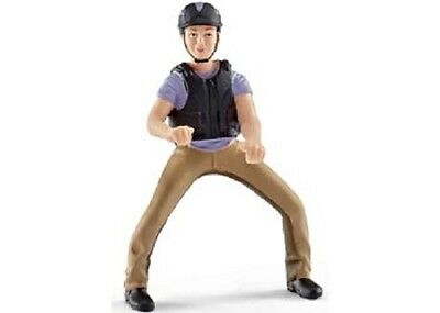 Schleich Model Horse Accessory 42164 - Horse Rider: Recreational Rider In Purple