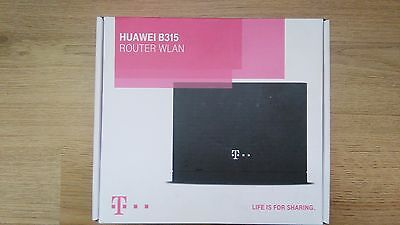 unlocked HUAWEI LTE CPE B315 S-22 4G Router GATEWAY 150MBPS WIFI EE SIMFREE new
