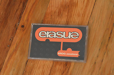 Erasure Promo KROQ Sessions Cassette - Love To Hate You & Am I Right PRO-C-5208