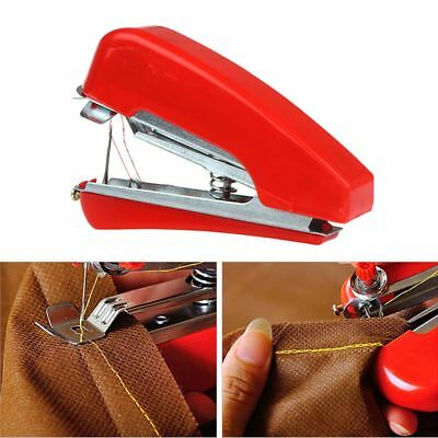 Hand-Held Mini High Quality Clothes Sewing Machine Needlework Portable