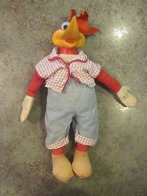 WOODY WOODPECKER Vintage Doll Toy Non Talking Cartoon Character 1964 MATTEL