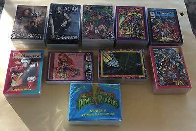 Lot Of 10 Different Non Sport Trading Card Sets