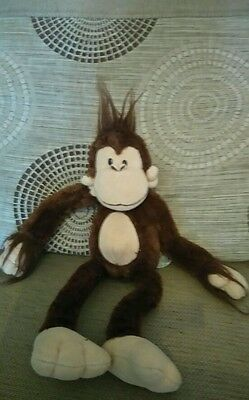 Russ berrie monkey soft toy 16""