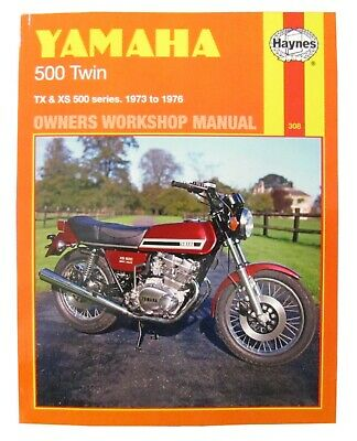 Yamaha XS 500 (Europe) 1975-1978 Manuals - Haynes (Each)